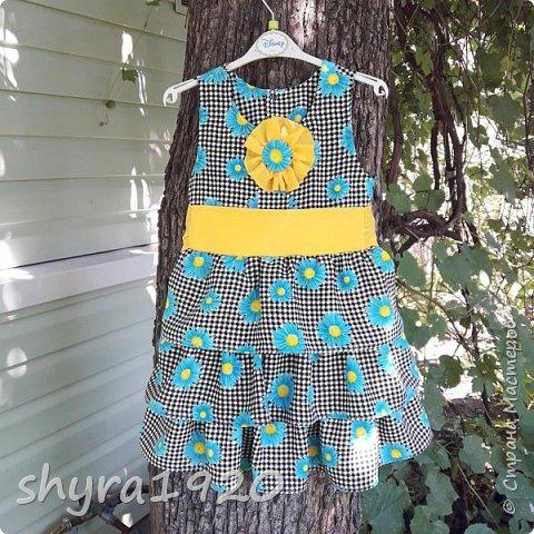 Летнее платье для девочки . фото 16