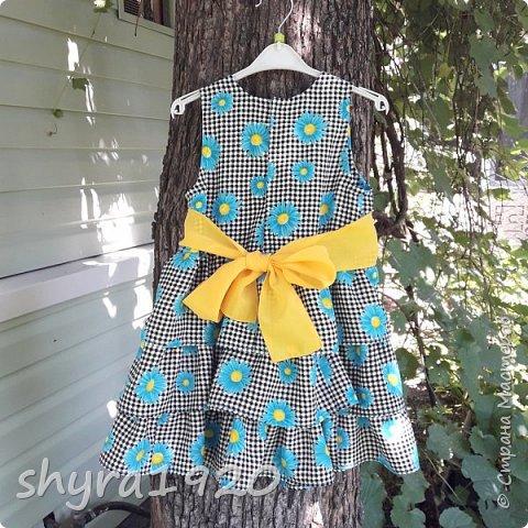 Летнее платье для девочки . фото 17