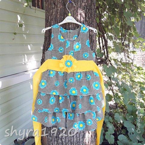 Летнее платье для девочки . фото 18