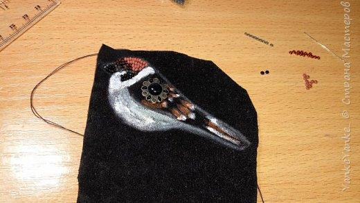 Однажды увидев рукодельные брошки захотелось создать их самостоятельно, по собственным эскизам. Вот что получилось) Птички. фото 2