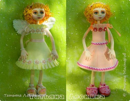 Приветствую всех, зашедших в гости, и представляю свою новую авторскую куклу- Светлого Ангела фото 9