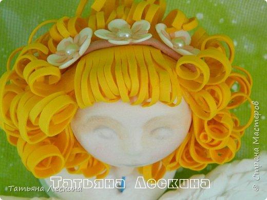 Приветствую всех, зашедших в гости, и представляю свою новую авторскую куклу- Светлого Ангела фото 3
