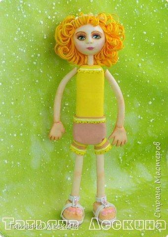 Приветствую всех, зашедших в гости, и представляю свою новую авторскую куклу- Светлого Ангела фото 4