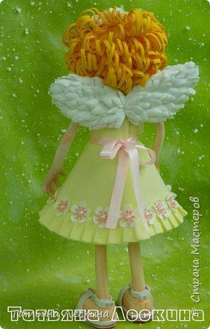 Приветствую всех, зашедших в гости, и представляю свою новую авторскую куклу- Светлого Ангела фото 7