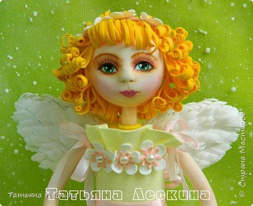 Приветствую всех, зашедших в гости, и представляю свою новую авторскую куклу- Светлого Ангела фото 1