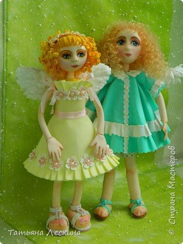 Приветствую всех, зашедших в гости, и представляю свою новую авторскую куклу- Светлого Ангела фото 8