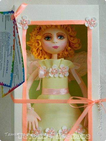 Приветствую всех, зашедших в гости, и представляю свою новую авторскую куклу- Светлого Ангела фото 11