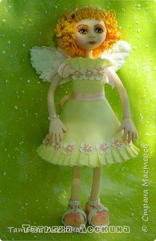 Приветствую всех, зашедших в гости, и представляю свою новую авторскую куклу- Светлого Ангела фото 13