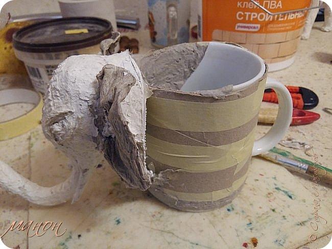 Разбитой чашке — вторую жизнь! Именно так стоит поступить с любимой, случайно разбитой чашкой-сделать из неё что-то нужное.  фото 10