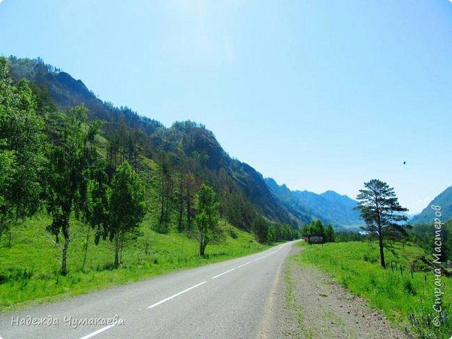 По дороге в Горно-Алтайск мы ездим очень часто, все уже должно бы примелькаться, но нет! Этой красотой налюбоваться невозможно. фото 29
