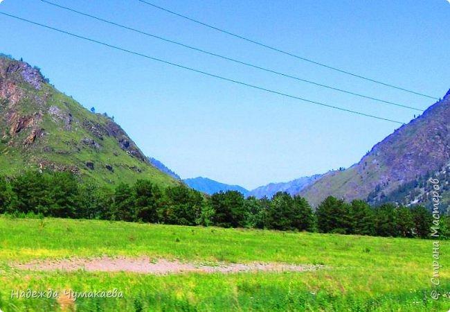 По дороге в Горно-Алтайск мы ездим очень часто, все уже должно бы примелькаться, но нет! Этой красотой налюбоваться невозможно. фото 40