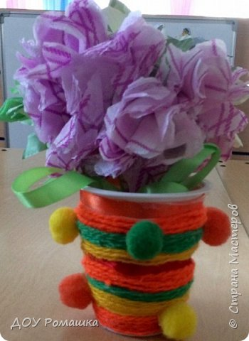 Вот такие замечательные цветы получились  у наших воспитанников фото 3