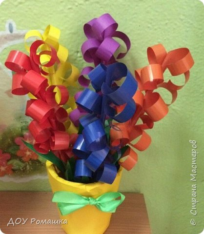 Вот такие замечательные цветы получились  у наших воспитанников фото 4
