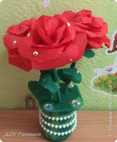 Вот такие замечательные цветы получились  у наших воспитанников фото 5