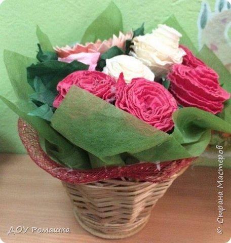 Вот такие замечательные цветы получились  у наших воспитанников фото 1