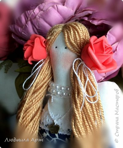 Обожаю шить кукол в стиле Тильда! Настоящее удовольствие и процесс, и результат! фото 2