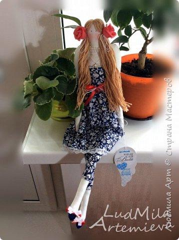 Обожаю шить кукол в стиле Тильда! Настоящее удовольствие и процесс, и результат! фото 5
