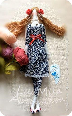 Обожаю шить кукол в стиле Тильда! Настоящее удовольствие и процесс, и результат! фото 3