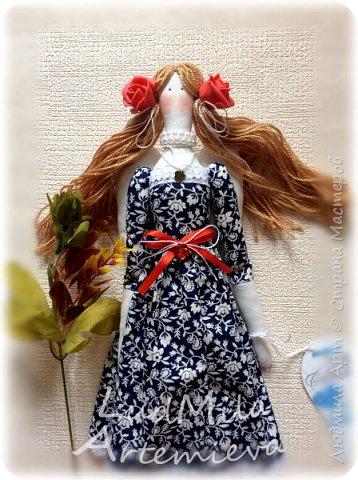 Обожаю шить кукол в стиле Тильда! Настоящее удовольствие и процесс, и результат! фото 4