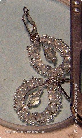 Когда плету ожерелье, обязательно делаю и серёжки. Но иногда мастерю их и просто так, без комплекта. фото 7