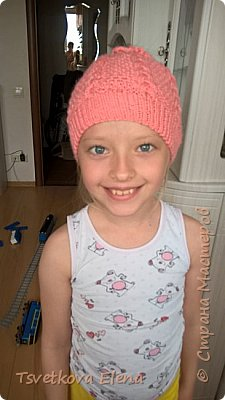 шапка с дыркой для длинных волос  фото 2