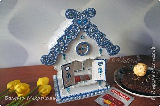 Сказочно-зимний чайный домик  фото 6