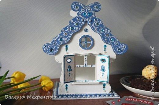 Сказочно-зимний чайный домик  фото 1