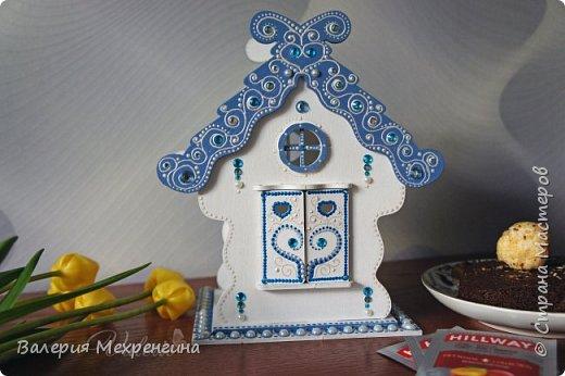 Сказочно-зимний чайный домик  фото 2