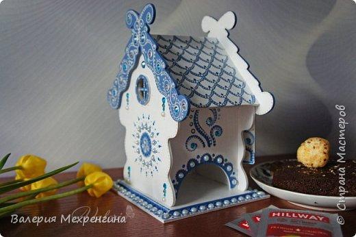 Сказочно-зимний чайный домик  фото 3