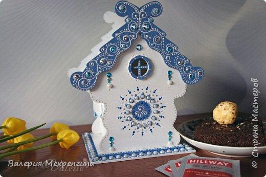 Сказочно-зимний чайный домик  фото 4