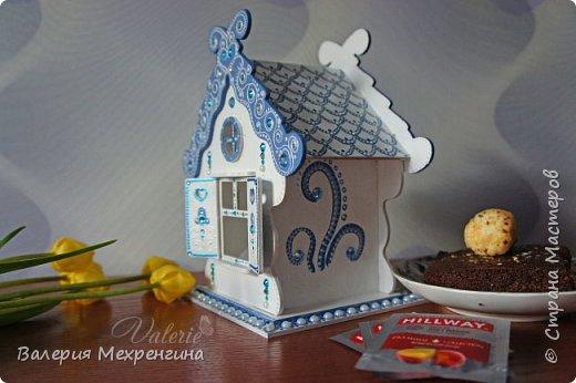 Сказочно-зимний чайный домик  фото 5