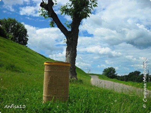 1.Здравствуйте, дорогие мои Мастеряне! Сегодня я к вам с моей новой,  одной - но очень мною желанной работой – корзиной «У Лукоморья» фото 1