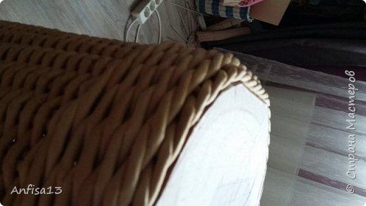 1.Здравствуйте, дорогие мои Мастеряне! Сегодня я к вам с моей новой,  одной - но очень мною желанной работой – корзиной «У Лукоморья» фото 10