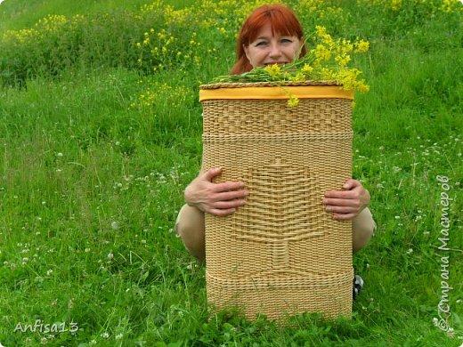 1.Здравствуйте, дорогие мои Мастеряне! Сегодня я к вам с моей новой,  одной - но очень мною желанной работой – корзиной «У Лукоморья» фото 37