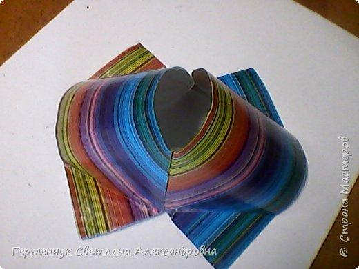 Представляю вашему вниманию  сувенирную объемную рыбку ( оригами) , которую можно использовать как упаковку небольшого подарка .(Увидела в Интернете) фото 13