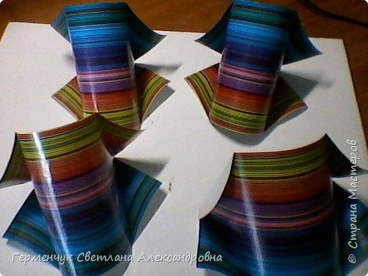 Представляю вашему вниманию  сувенирную объемную рыбку ( оригами) , которую можно использовать как упаковку небольшого подарка .(Увидела в Интернете) фото 14