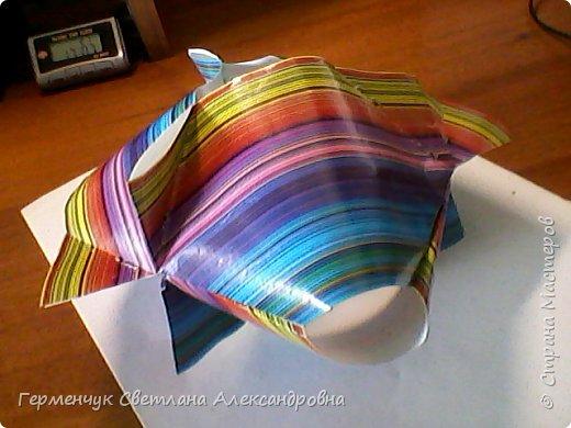 Представляю вашему вниманию  сувенирную объемную рыбку ( оригами) , которую можно использовать как упаковку небольшого подарка .(Увидела в Интернете) фото 17