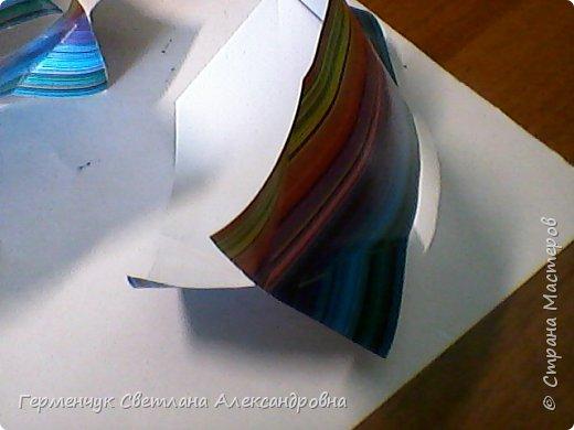 Представляю вашему вниманию  сувенирную объемную рыбку ( оригами) , которую можно использовать как упаковку небольшого подарка .(Увидела в Интернете) фото 18