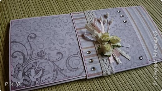 Добрый вечер, СМ! Предлагаю Вашему вниманию конвертик для денежного подарка на свадьбу. фото 1