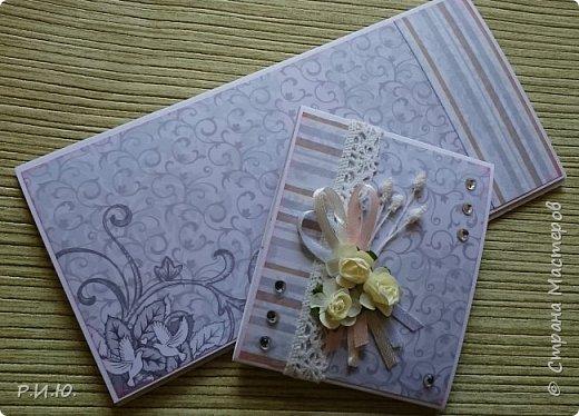 Добрый вечер, СМ! Предлагаю Вашему вниманию конвертик для денежного подарка на свадьбу. фото 3