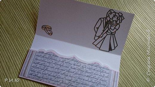 Добрый вечер, СМ! Предлагаю Вашему вниманию конвертик для денежного подарка на свадьбу. фото 4