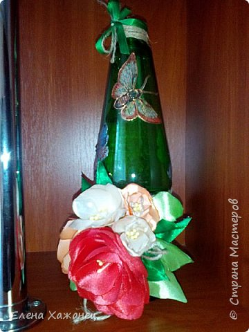 Бутылочка-ваза фото 5