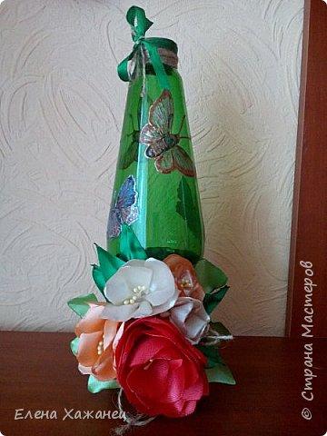 Бутылочка-ваза фото 4
