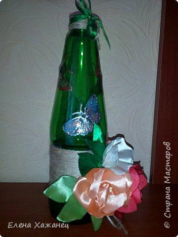 Бутылочка-ваза фото 6
