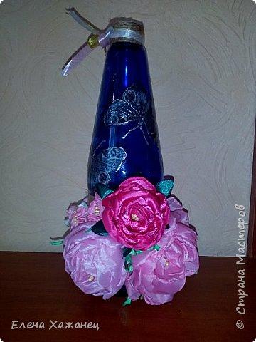 Бутылочка-ваза фото 2