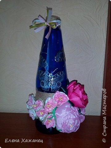 Бутылочка-ваза фото 3