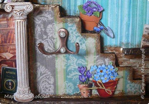 """Доброго времени суток! Представляю Вашему вниманию наборчик """"Хозяйка медной горы"""" - ключница (шедоубокс) и шкатулка, сделанные для подруги на День Рождения.  фото 6"""