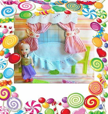 Текстильный кукольный домик фото 2