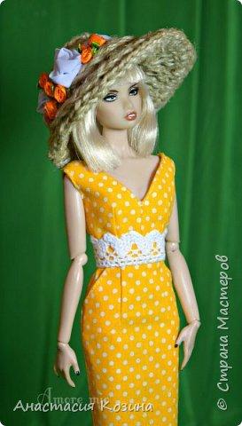 летнее платье и шляпка  фото 1