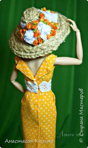 летнее платье и шляпка  фото 4